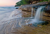 lakeshore national de roches sur la photo