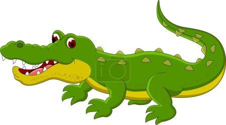 Crocodile cartoon