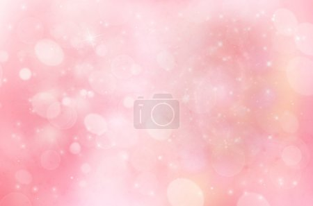 pale blue and pink winter background