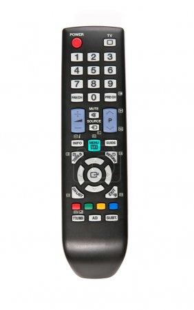 Photo pour TV télécommande isolé sur blanc - image libre de droit