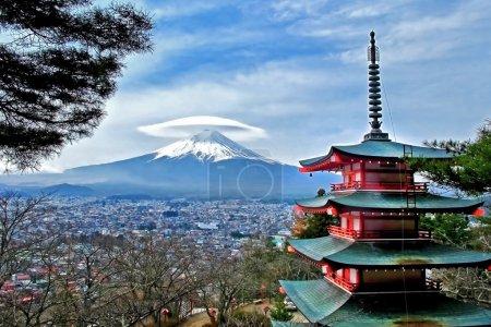 Mt. Fuji in Japan.
