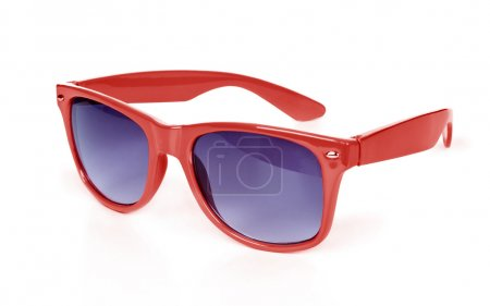 Photo pour Belles lunettes isolées sur blanc - image libre de droit