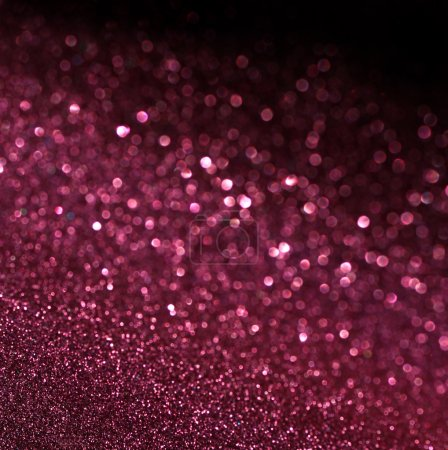 Purple Festive Christmas elegant abstract background with bokeh
