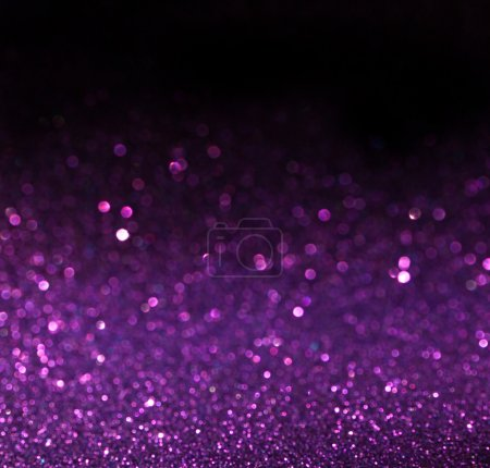 Photo for Purple background. Elegant abstract background with bokeh defocused lights - Royalty Free Image