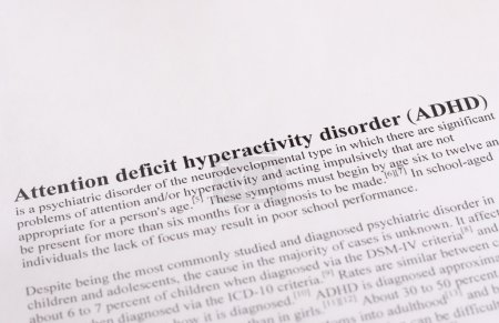 Photo for Attention deficit hyperactivity disorder (ADHD) - Royalty Free Image