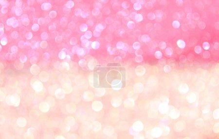 Foto de Luces multicolor bokeh abstracta. Fondo Defocused - Imagen libre de derechos