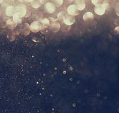"""Постер, картина, фотообои """"Серебряный и Золотой фон расфокусированные абстрактные огни. Боке огни."""""""