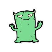Little monster cartoon