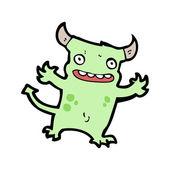 Cartoon little devil