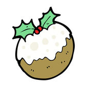 Xmas Plum Pudding Character
