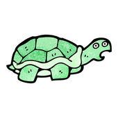 Shocked tortoise cartoon