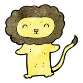 cute cartoon lion