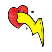 Heart With A Lightning Bolt