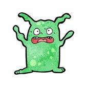 Green Alien Or Monster