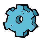 Cartoon cog symbol