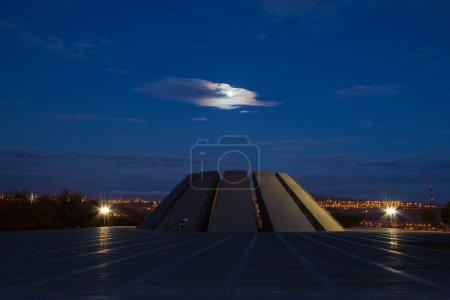 Tsitsernakaberd at night