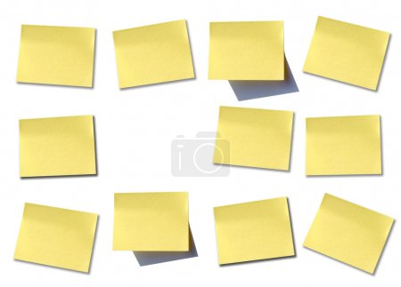 Wall of post it