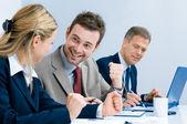 Successful business team