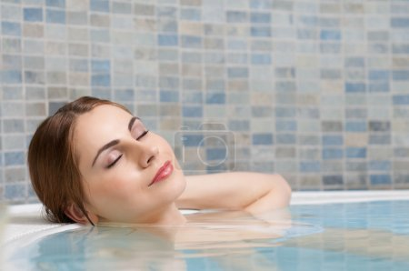 Relax at beauty center