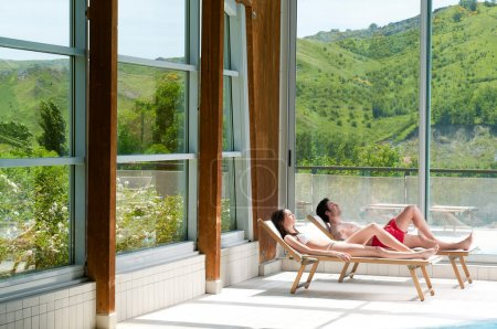 Relax at spa centre