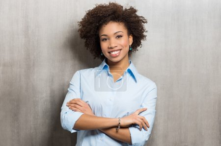 Photo for Portrait Of A Successful Business woman - Royalty Free Image