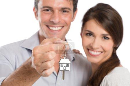 Coupe Holding House Key