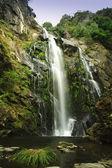 Toxa vodopád v silleda, pontevedra, Španělsko