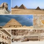 Egypt Landmark Collage - Highlights...