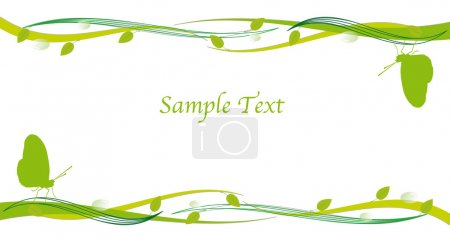 Photo for Go Green Concept for flyer and pamphlet for trifold flyer - Royalty Free Image