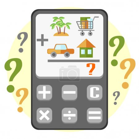 Calculating of household budget