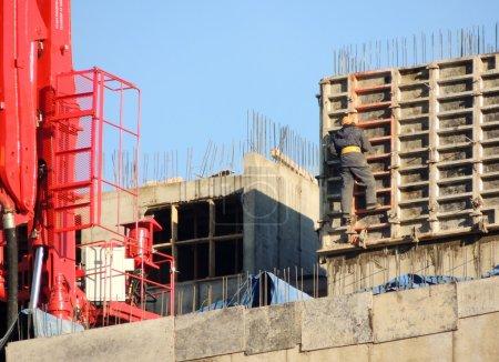industry construction cranes