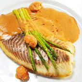 Horké rybí pokrmy - ropušnice filé