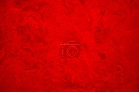 Photo for Solid red wall as background texture - Royalty Free Image