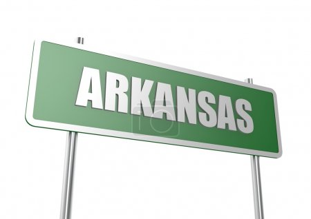 Arkansas sign board