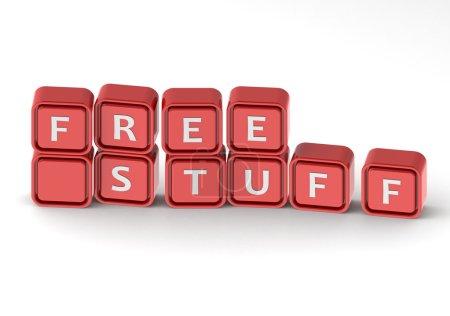 Free stuff buzzword