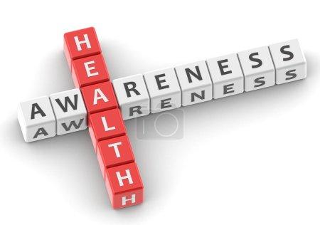 Health awareness buzzword