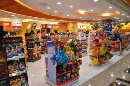 Toy store in Changi airport, Singapore