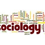Sociology word cloud...