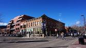 Boulder, colorado, 27 ledna 2014: návštěvníci navštívit v centru města