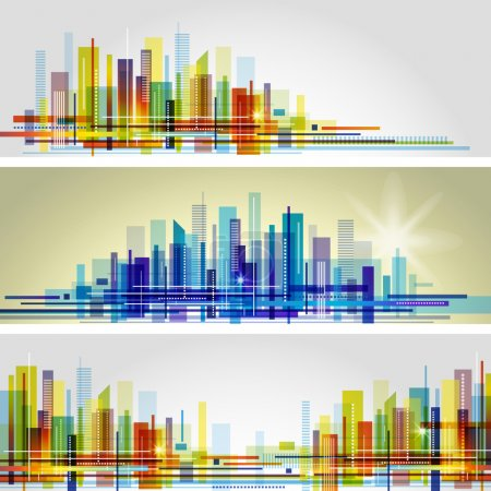 Illustration for Vector cityscape - Royalty Free Image