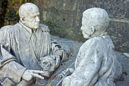 Statue in Bologna' certosa - italy