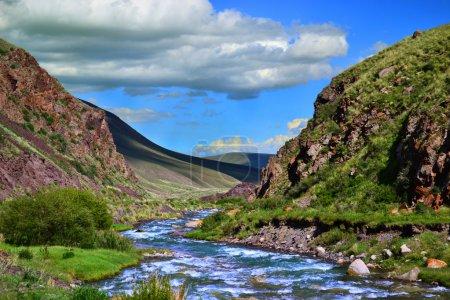 Kyrgyzstan Nature Landscape