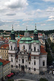 St. Nicholas Church at the Old Town Square in Prague