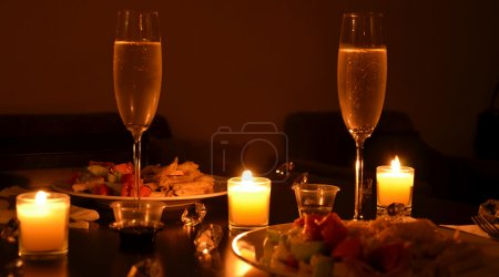 Photo for Romantic dinner - Royalty Free Image