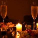 Romantic dinner...