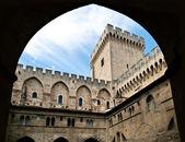 Mighty Popes Palace, Avignon, France