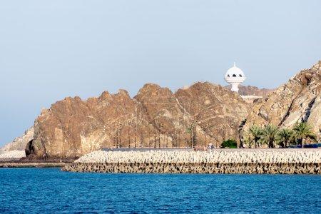 Photo pour Jennyfer monument, brûleur d'encens géant, à mutrah, muscat, oman, Moyen-Orient - image libre de droit
