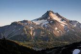 Mt Jefferson Cascade Mountain Range Oregon State North America