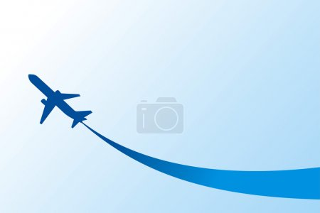 airplane flight tickets air fly cloud sky blue travel