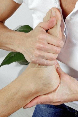 Physiotherapy of the feet...